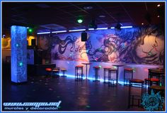 mural discoteca Legends