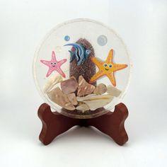 Happy Starfish Handmade Resin Coaster FI0241
