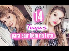 14 truques que VOCÊ deve SABER para sair bem na FOTO!! - YouTube