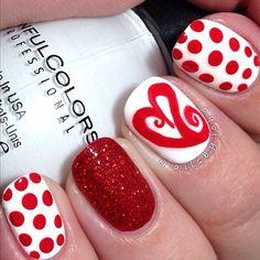 valentine by nailsbyjoha #nail #nails #nailart