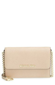 35b2b1f2b5 MICHAEL Michael Kors 'Jet Set - Large Phone' Saffiano Leather Crossbody Bag  available at