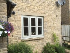 Closer shot of this recent installation. Luxury Windows, Farmhouse Exterior, Windows, Windows Exterior, Cottage Windows, Upvc Windows, Through The Looking Glass, House Designs Exterior, Barn Windows