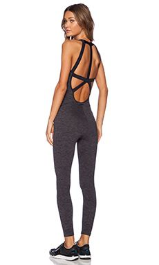 koral activewear Stealth Jumpsuit in Charcoal from Revolve Clothing Sport Fashion, Fitness Fashion, Fitness Wear, Fitness Diet, Health Fitness, Weight Lifting, Body Builder, Designer Jumpsuits, Fitness Models