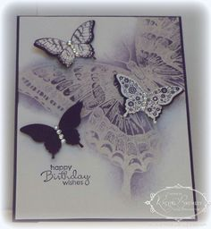Swallowtail Stamp & Papillon Potpourri stamps from Stampin Up!