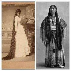 Blackfoot and Apache women