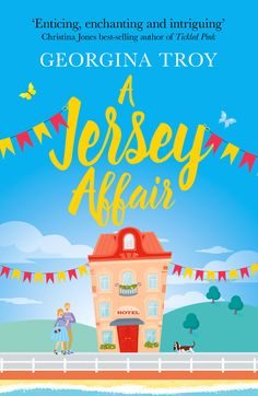 New cover for the relaunch of A Jersey Affair. Set in Jersey and Sorrento.
