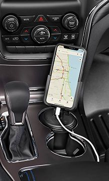 Cupfone Cell Phone Holder Car Accessories For Guys Trunk Liner
