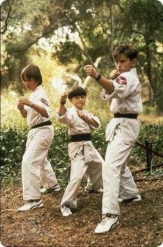 3 Ninjas (1992) Saw all these movie like a trillion times....lots of dead brain cells, but I loved it. ;)  Rocky loves Emily, people....nuff said. ;)