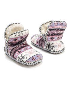 Frost Fleece Amira Slipper Boot - Women by MUK LUKS #zulily #zulilyfinds