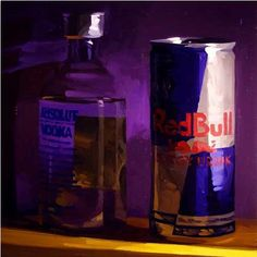 golucho painter | Oil on Canvas 30 X 30 inches 2006 Red Bull, Still Life, Oil On Canvas, Painting, Art, Painted Canvas, Painting Art, Paintings, Oil Paintings