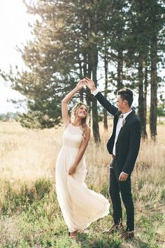 Bride and groom photo idea