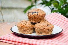 Muffins de Blueberries