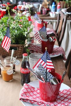Fourth Of July Cakes, 4th Of July Desserts, Fourth Of July Decor, 4th Of July Celebration, 4th Of July Decorations, 4th Of July Party, July 4th, Table Decorations, Outdoor Decorations