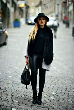 Ways to Wear a Winter hat With Style (46)