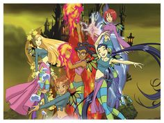 W.I.T.C.H. - I read a few of the comics, but the cartoon is freaking awesome!