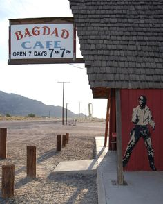 Bagdad Cafe Route 66 by blekleratoriginal from #instagram