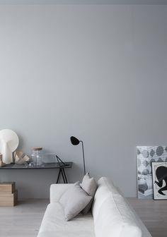 Perfect minimalistic Scandi-style in Annaleena Leino Karlsson's new home, via…