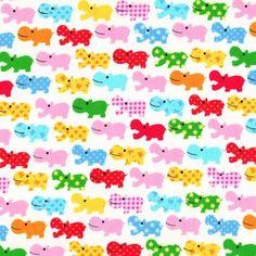 Rainbow Hippos