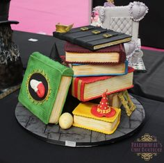 Cake International 2017 London. A tribute to Terry Pratchett, Bronze award