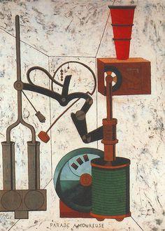 Picabia, Francis (1879-1953) - 1917 Parade Amoureuse