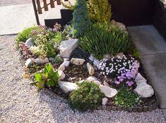 Rock Garden Design, Dream Garden, Outdoor Gardens, New Homes, Backyard, Flowers, Plants, Gardening, Outdoor Ideas
