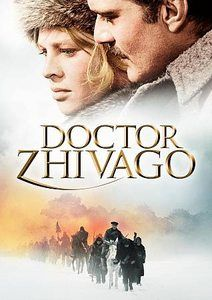 Doctor Zhivago.  classic movie. love it. can still watch it again even though it's 45 years old!