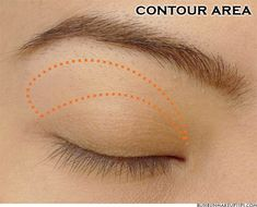 Asian Eyemake: Defining the Contour Area