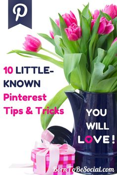 10 Little-Known Pinterest Tips & Tricks You Will Love! | Born To Be Social