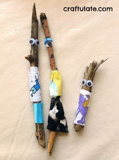 Craftulate: Stick Family A perfect craft to accompany Stick Man Diy For Kids, Crafts For Kids, Arts And Crafts, Nature Activities, Activities For Kids, Stick Family, The Giving Tree, Stick Man, Family Crafts