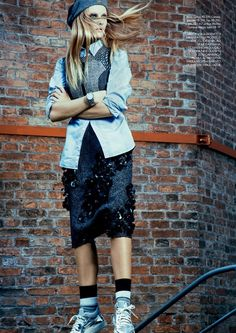 ElleBrasil Abril2014 ReginaKrilow phEduardoRezende 05 Elle Brazil April 2014 | Regina Krilow by Eduardo Rezende  [Editorial]