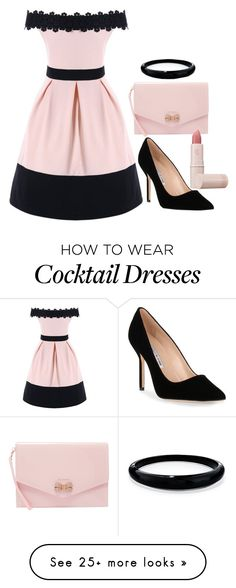 """""""for @ellielola"""" by fandomgirl46 on Polyvore featuring Manolo Blahnik, Ted Baker, Alexis Bittar and Lipstick Queen"""
