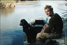 Jude Law by Annie Leibovitz. This site has quite a collection of her portraits.