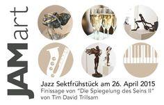 Ankündigung: JAMart Jazz Sektfrühstück Gerne möchten wir Sie schon heute einladen am Sonntag, den 26. Apr ...