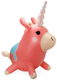 My daughters love this:  #Ballonicorn from Team Fortress 2 (a video game) It's a 3-ft tall inflatable + it's adorable! http://www.thinkgeek.com/product/eceb/#