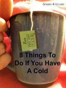 8 All Natural Things To Do If You Have a Cold, need to do this before the assembly!