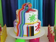 Tema da Festa: Pintando o Sete!   Guia Tudo Festa - Blog de Festas - dicas e ideias!