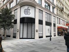 Identyfikacja wizualna wiedeńskiego salonu Apple | Love Logo