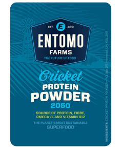 Entomo Farms- cricket powder- This cricket flour is so easy to add into anything I bake and cook. www.entomofarms.com  edible insects, insect protein, eat insects, entomophagy