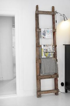 houten decoratie ladders