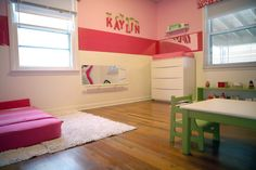 Montessori setup bedroom for our daughter that my wife and I did.