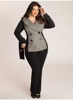 Miuccia Jacket. IGIGI, plus size.