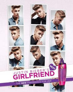 Justin Bieber Fragrance 'Next Girlfriend' Photos Are Disclosed