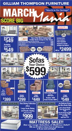 14 Best Monthly Furniture Sales Ads! images  Sales ads, Furniture