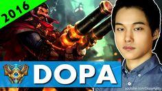 [Jun 13, 2016] 도파 Dopa Graves Jungle S6 Live Stream - Facecam