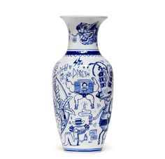 The Porcelain Pipe Dreams project from The Yok puts a modern twist on Ming Dynasty-style porcelain pottery.