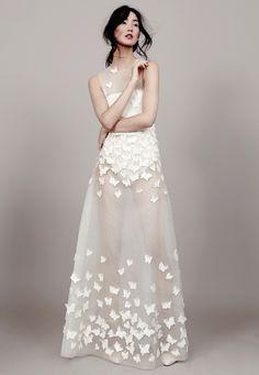 """""""Papillon D'Amour"""": Die Bridal Couture Kollektion 2015 von Kaviar Gauche"""