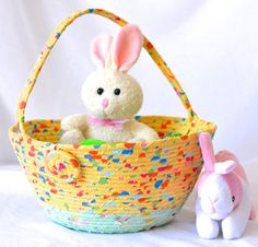 Rainbow easter basket handmade yellow easter bucket cute toy rainbow easter basket handmade yellow easter bucket cute toy wexford treasures pinterest easter buckets easter baskets and easter negle Image collections