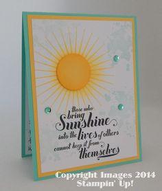 Bring On the Sunshine!!! Kinda Eclectic, Feel Goods