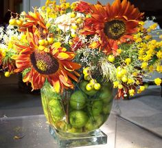Late-Summer Table Centerpiece