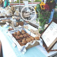 Cutest Farmers' Market Table
